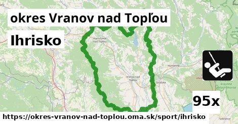 ihrisko v okres Vranov nad Topľou