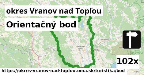 ilustračný obrázok k Orientačný bod, okres Vranov nad Topľou
