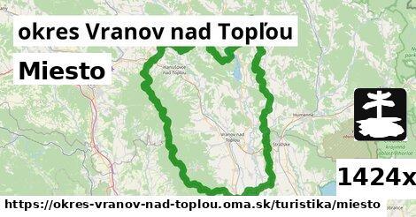 ilustračný obrázok k Miesto, okres Vranov nad Topľou
