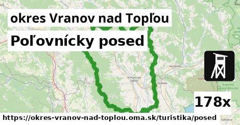 poľovnícky posed v okres Vranov nad Topľou