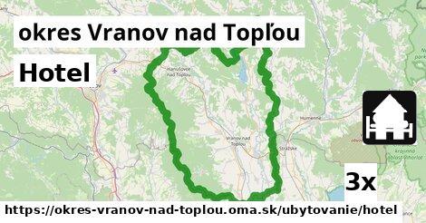 ilustračný obrázok k Hotel, okres Vranov nad Topľou