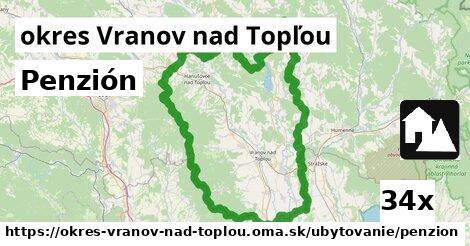 ilustračný obrázok k Penzión, okres Vranov nad Topľou