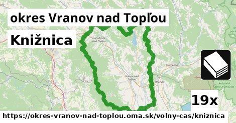 ilustračný obrázok k Knižnica, okres Vranov nad Topľou
