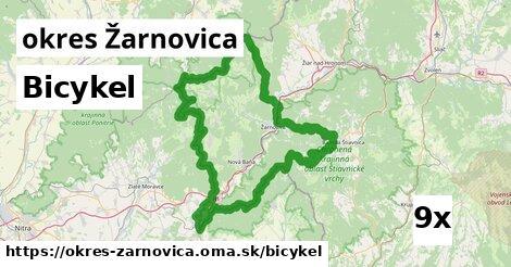 bicykel v okres Žarnovica