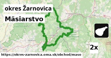 Mäsiarstvo, okres Žarnovica