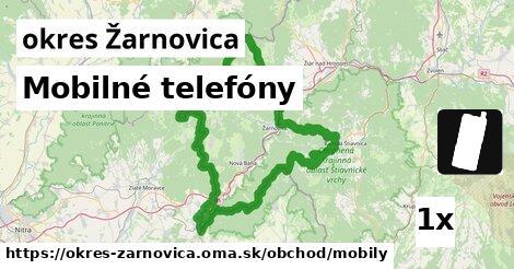 Mobilné telefóny, okres Žarnovica
