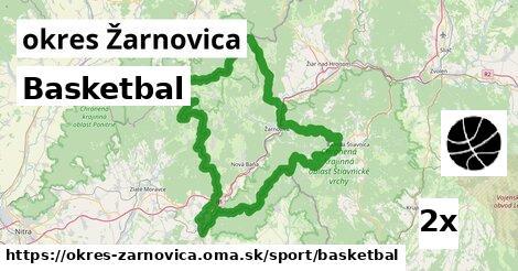 Basketbal, okres Žarnovica