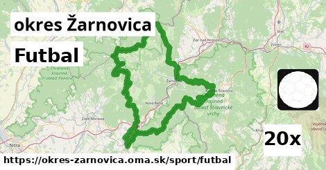 Futbal, okres Žarnovica