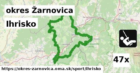 Ihrisko, okres Žarnovica
