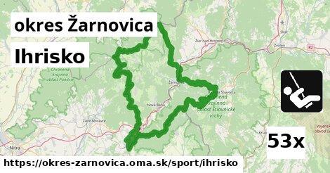 ilustračný obrázok k Ihrisko, okres Žarnovica