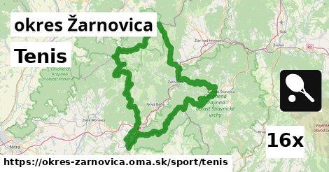 ilustračný obrázok k Tenis, okres Žarnovica