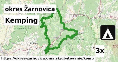 Kemping, okres Žarnovica