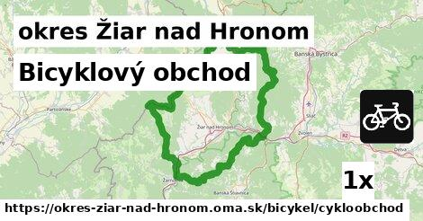 ilustračný obrázok k Bicyklový obchod, okres Žiar nad Hronom