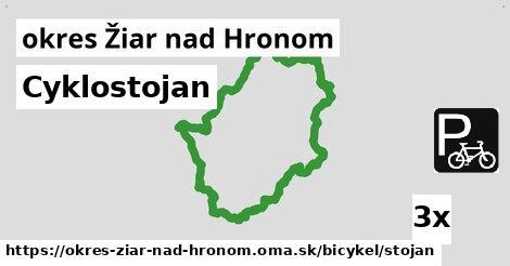 ilustračný obrázok k Cyklostojan, okres Žiar nad Hronom