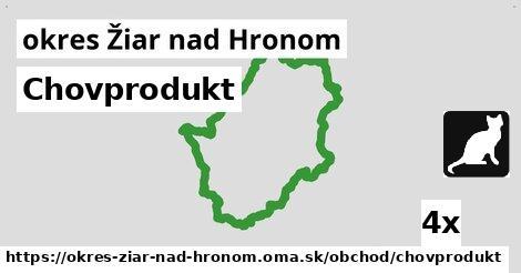 ilustračný obrázok k Chovprodukt, okres Žiar nad Hronom