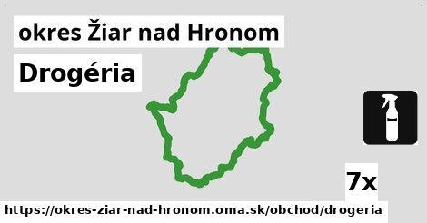 ilustračný obrázok k Drogéria, okres Žiar nad Hronom