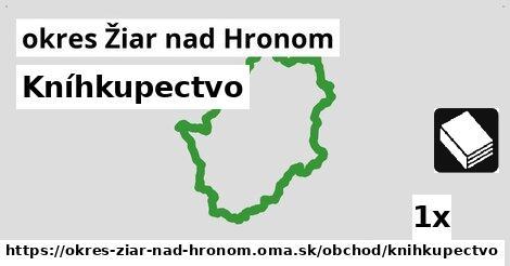 ilustračný obrázok k Kníhkupectvo, okres Žiar nad Hronom