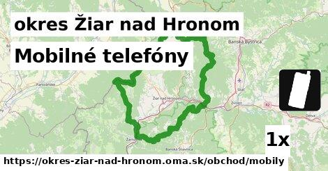 ilustračný obrázok k Mobilné telefóny, okres Žiar nad Hronom