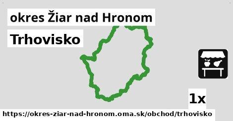 ilustračný obrázok k Trhovisko, okres Žiar nad Hronom