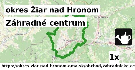 ilustračný obrázok k Záhradné centrum, okres Žiar nad Hronom