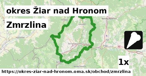 ilustračný obrázok k Zmrzlina, okres Žiar nad Hronom