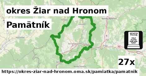 ilustračný obrázok k Pamätník, okres Žiar nad Hronom