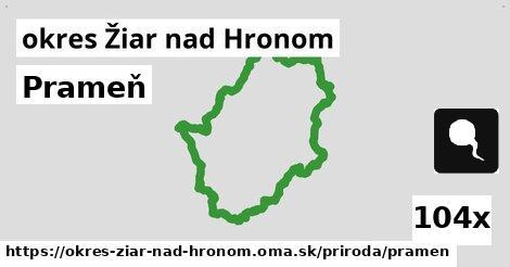 ilustračný obrázok k Prameň, okres Žiar nad Hronom