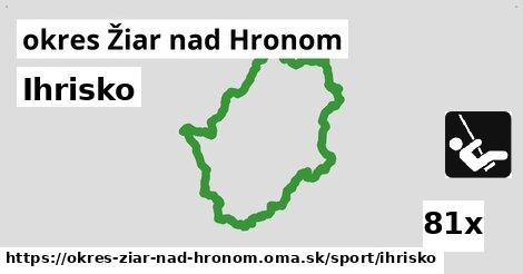 ilustračný obrázok k Ihrisko, okres Žiar nad Hronom