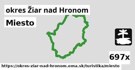 ilustračný obrázok k Miesto, okres Žiar nad Hronom