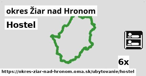 ilustračný obrázok k Hostel, okres Žiar nad Hronom