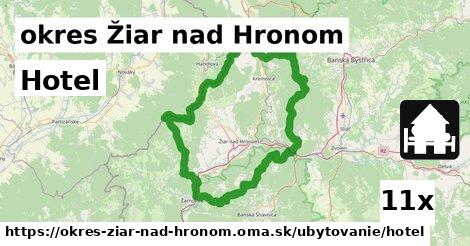 ilustračný obrázok k Hotel, okres Žiar nad Hronom