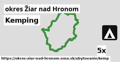 ilustračný obrázok k Kemping, okres Žiar nad Hronom