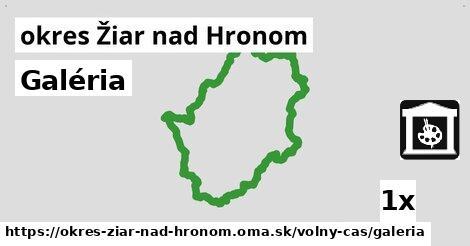 ilustračný obrázok k Galéria, okres Žiar nad Hronom