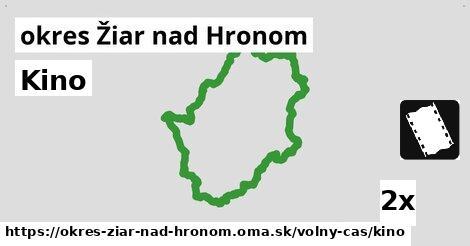 ilustračný obrázok k Kino, okres Žiar nad Hronom