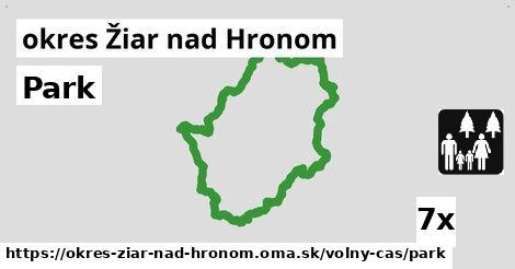 ilustračný obrázok k Park, okres Žiar nad Hronom