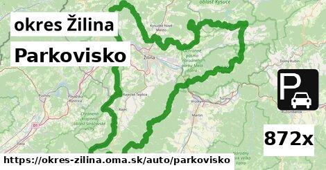 ilustračný obrázok k Parkovisko, okres Žilina