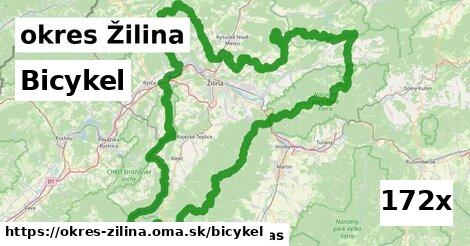 bicykel v okres Žilina