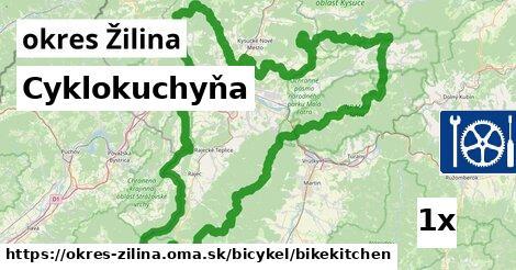 ilustračný obrázok k Cyklokuchyňa, okres Žilina