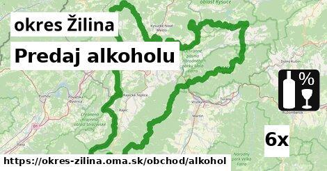 ilustračný obrázok k Predaj alkoholu, okres Žilina