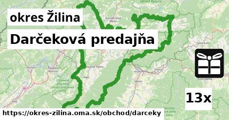 ilustračný obrázok k Darčeková predajňa, okres Žilina