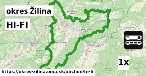 ilustračný obrázok k HI-FI, okres Žilina