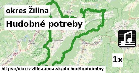 ilustračný obrázok k Hudobné potreby, okres Žilina