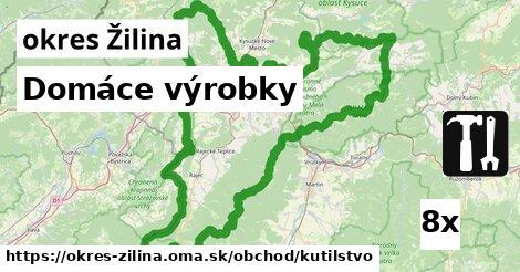 ilustračný obrázok k Domáce výrobky, okres Žilina