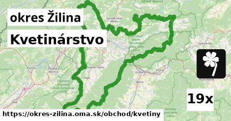 ilustračný obrázok k Kvetinárstvo, okres Žilina