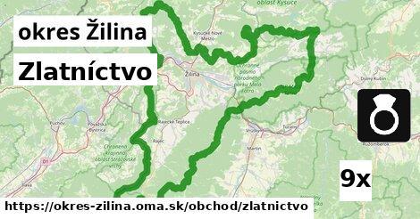 ilustračný obrázok k Zlatníctvo, okres Žilina