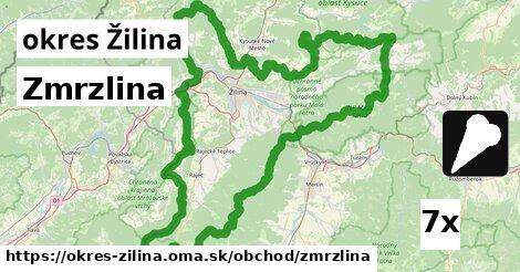 ilustračný obrázok k Zmrzlina, okres Žilina