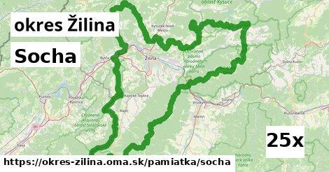 ilustračný obrázok k Socha, okres Žilina
