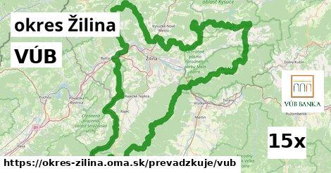 VÚB v okres Žilina
