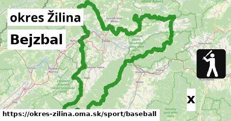 ilustračný obrázok k Bejzbal, okres Žilina