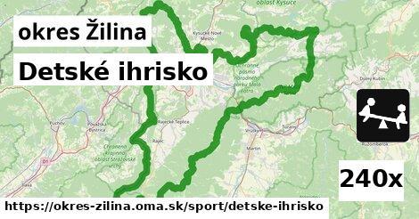 detské ihrisko v okres Žilina